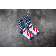 HUF Fuck It Flag Socks White