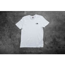 The North Face M Short Sleeve Simple Dome Tee White