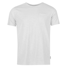 Pierre Cardin Raw Edge férfi kerek nyakú póló szürke M