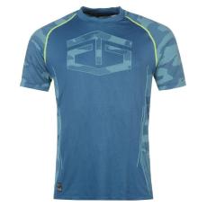 Tapout Camouflage Panel férfi póló kék M