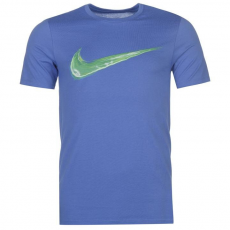 Nike Streak Swoosh QTT férfi póló kék L