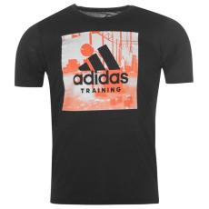 Adidas Freelift Logo férfi póló fekete L