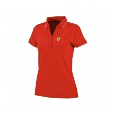 Ferrari F1 Team Ferrari női galléros póló Classic red F1 Team 2017 - XL