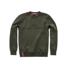Alpha Indsutries 3D Sweater - dark green