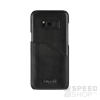 BUGATTI Londra Samsung G950 Galaxy S8 valódi bőr hátlap tok kártyatartóval, fekete