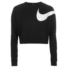 Nike Sportos felső Nike Swoosh Crop Crew női