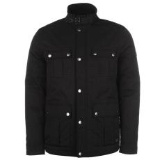 Firetrap 4 Pocket férfi kabát fekete L