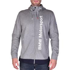 Puma Bmw Msp Hooded Midlayer férfi kapucnis cipzáras pulóver szürke XXL