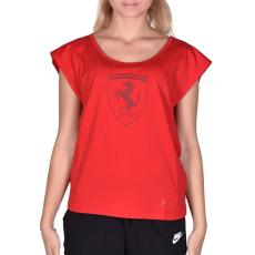Puma Ferrari Big Shield Tee női póló piros L