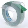 Dymo S0898160, 9mm x 3m, fehér nyomtatás / zöld alapon, eredeti szalag