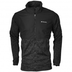 Columbia Birch Woods Overlay Full Zip Polár,softshell,középréteg D (1736451-r_010-Black)