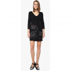 Desigual Vest Dominique Ruha D (17WWVK44-r_2000-Black)
