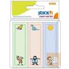 Stick'n Öntapadós jegyzettömb -21241- gyerekek 76 x 25mm 30 lap KIDS STICK'N