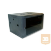 X-Tech - 9U fali rack szekrény 600x450 hegesztett kivitel