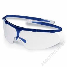 Uvex SUPER G szemüveg, kék keret, víztiszta lencse