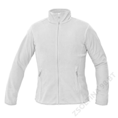 Cerva GOMTI női polár kabát, fehér