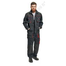 Cerva FF BE-1-002 kabát, fekete/piros