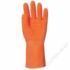 Euro Protection Mártott narancs krepp latex, érdes, vegyszerálló, 32 cm -9