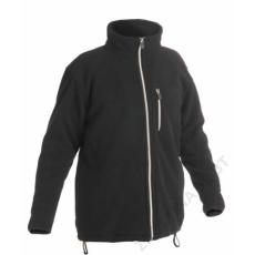 Cerva KARELA polár kabát, fekete