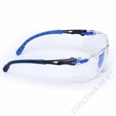 3M SOLUS S1101SGAFKT-EU kék/fekete, víztiszta szemüveg