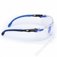 3M SOLUS S1101SGAF-EU fekete/kék, víztiszta szemüveg
