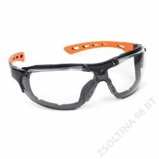 Lux Optical® SPIDERLUX 2/1, víztiszta védőszemüveg + szivacsbetét