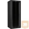 """Lande LN-FS42U8080-BL-111 DYNAmic 42U 800x800 álló rack szekrény 19"""" RAL9005 fekete"""
