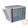 """Lande LN-EUBOX07U5460-LG-1 EURObox 7U 540x600 fali rack szekrény 19"""" RAL7035 szürke"""