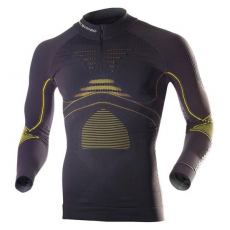 X-Bionic Accumulator Evo men shirt long slv turtle neck zip up - L/XL