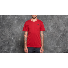 The North Face Shortsleeve Red Box Tee Cardinal Red