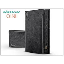 Nillkin Sony Xperia XA1 Ultra (G3221/G3223) oldalra nyíló flipes tok - Nillkin Qin - fekete tok és táska