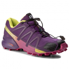 Salomon Cipő SALOMON - Speedcross 4 W 383103 20 V0 Cosmic Purple/Deep Dalhia/Gecko Green