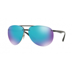 Ray-Ban RB4293CH 601/A1 BLACK GREEN MIRROR BLUE POLAR napszemüveg