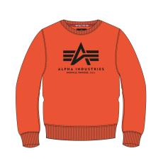 Alpha Indsutries Basic Sweater - flame orange