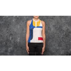 ADIDAS ORIGINALS adidas New York Colorblock Tank Chalk White