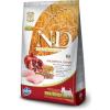 Natural & Delicious; Farmina N&D Low Grain Csirke+Gránátalma Kistestű Kutya 7kg