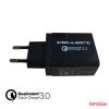 CELLECT 3.Hálózati töltő adapter gyorstöltő funkcióval, 3A
