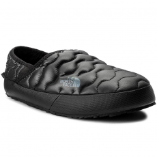 The North Face Zártpapucs THE NORTH FACE - Thermoball Traction Mule IV T933IEYXA Shiny Tnf Black/Dark Shadow Grey