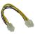 Inline 4PIN (alaplapi)-EPS 8PIN (alaplapi) kábel  (INL 26633)
