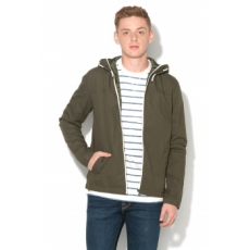 Jack Jones Jack&Jones, Floor Kapucnis Pamutkabát, Fenyőzöld, XL (12123543-FOREST-NIGHT-XL)