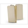 Haffner Slim Flexi Flip bőrtok - Apple iPhone 5/5S - gold