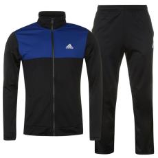 Adidas Basics Poly férfi melegítő szett kék M