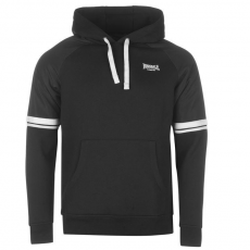 Lonsdale Heavy Weight férfi kapucnis pulóver fekete XL
