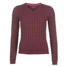 Kangol CableVnk női kötött pulóver bordó M