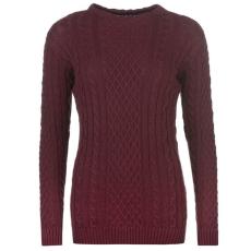 Kangol High Nk   női kötött pulóver bordó L