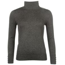 Full Circle Roll Neck női pulóver sötétszürke M