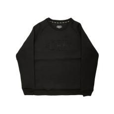 Dorko Mens Crew Neck férfi pulóver fekete 3XL