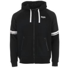 Lonsdale Heavy Weight férfi cipzáras kapucnis pulóver fekete XL
