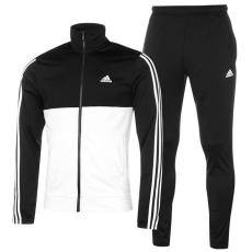Adidas Back 2 Basics 3 Stripes férfi melegítő szett fekete XL