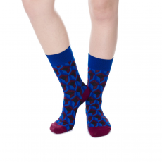 Wilky Cube 2 Blue zokni többszínű